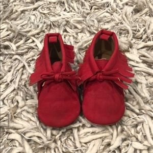 Baby Moccasins, size 6-12 months